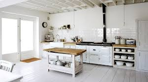 rustic white country kitchen. Exellent Kitchen Whitekitchenrusticcountrywhitewoodfloorssubwaytilebacksplash On Rustic White Country Kitchen C