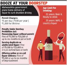 First Delivery Maharashtra Home Start To A Liquor Country In Of