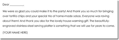 Thank You Note Examples 8 House Warming Gift Thank You Note Templates Wording Ideas