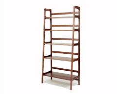 ... Shelves, Freestanding Shelving Unit Narrow Shelving Unit Agnes Tall  Shelving Unit Walnut: 2017 freestanding ...