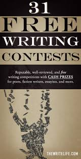 Free teen writing contest
