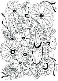Easy Flower Coloring Pages 488websitedesigncom