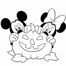 Small Picture Page with hundreds of Halloween coloring pages including many