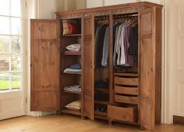 gorgeous solid wood wardrobe with drawers 3 door wardrobe in solid wood from revival beds