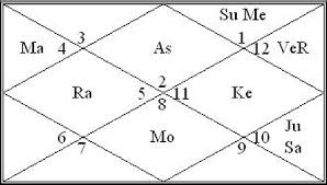 My Vedic Astrology Chart How To Read A Vedic Horoscope