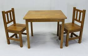 childrens table and chairs set wooden thanks