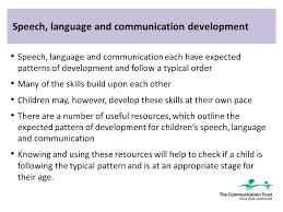 Communication Essay Sample Support Childrens Speech Language And Communication Essay