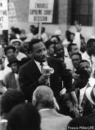 student essay martin luther king jr making a speech to some of his followers