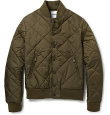Quilted Flight Jacket | Fit Jacket & Aspesi Quilted Padded Bomber Jacket in Green for Men | Lyst Adamdwight.com