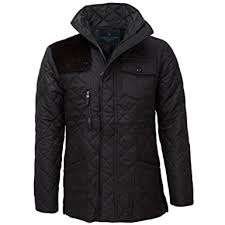 James Darby Mens Slim Fit Diamond Quilted Jacket at Amazon Men's ... & James Darby Mens Slim Fit Diamond Quilted Jacket - Black - S Adamdwight.com