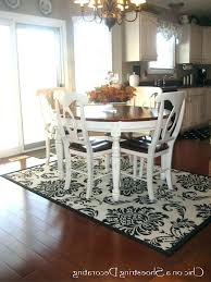 jute rug under dining table rug under kitchen table diffe area rugs for kitchen and dining