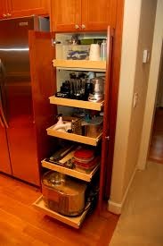 Kitchen Cabinets Sliding Shelves Free Standing Kitchen Pantry Diy How To Build A Rollout Shelf