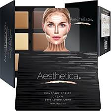 aesthetica cosmetics cream contour and highlighting makeup kit contouring foundation concealer palette vegan
