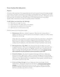 What Is A Cover Letter To Resume How Write For The Purpose Of 17