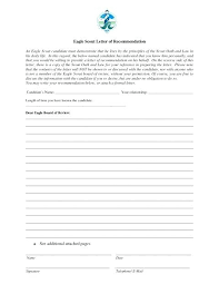 eagle scout candidate letter of recommendation eagle scout letter of recommendation