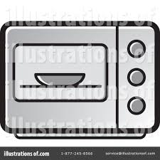 microwave clipart. royalty-free (rf) microwave clipart illustration #1231756 by lal perera