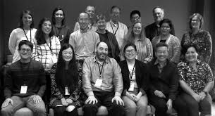 scholars archivists and densho staff during the inaugural gathering in seattle back row left to right maggie wetherbee natasha varner eric muller