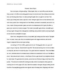 goals essay co goals essay