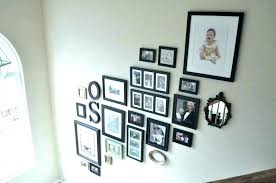 hanging pictures on wall with nails ideas for without hang brick shelves or s kids