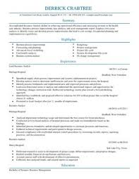 Resume Sample Business Analyst Business Analyst Resume Template 15