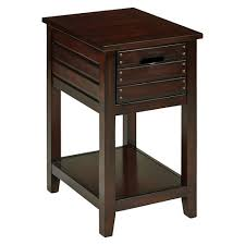 Side tables for office Contemporary Target Camille Chair Side Table Walnut Finish Office Star Target