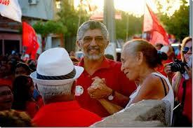 Resultado de imagem para fotos de luizinho cavalcante em campanha em carnaubais