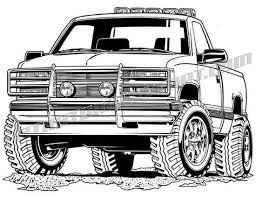 92 chevy 4x4 vector clipart, buy two images get one image free