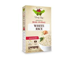 bag of white rice. Fine Bag Boil In Bag White Rice With Of E