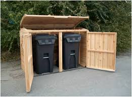 rubbish sheds could be costly and they can not be big adequate to accommodate all the rubbish cans in your residence