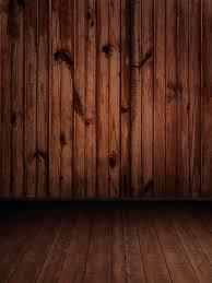 8x12FT Indoor Saddle Brown Dark Wooden Wall Wood Texture Floor