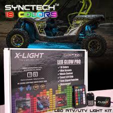 Utv Led Light Strips Us 59 99 10pc X Light Atv Utv Underbody Glow Led Lighting Kit Full Color Accent Neon Strips W Switch 3 In 1 Smart Led Brake Mode In Decorative