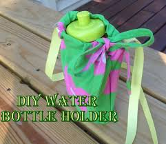 Diy Water Bottle Diy Water Bottle Holder And Giveaway