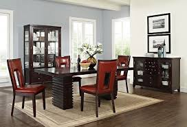 Costa Paso Red Dining Room Collection Furniture DIY Home Amazing Red Dining Rooms Collection