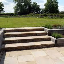 garden design using sleepers. garden step designs design using sleepers