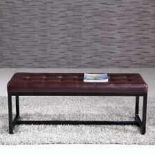 Metal Bedroom Bench Noya Usa Metal Bedroom Bench Reviews Wayfair