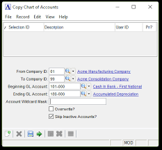 Chart Of Accounts For Software Company Copy Chart Of Accounts