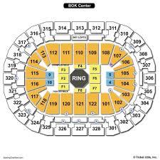 bok center ufc seating chart