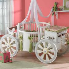 round baby girl cribs