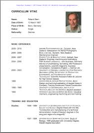 Creative Design Resume In English Resume Examples Examples Good