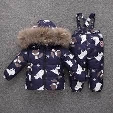 <b>2019 New</b> Winter <b>Baby</b> Boy Girl Clothing Set Warm <b>Down</b> Jacket ...