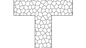 Extraordinary Idea Stained Glass Cross Coloring Page Pages Crosses