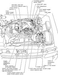 similiar nissan pathfinder parts diagram keywords 2000 nissan altima knock sensor engine diagram moreover 2002 nissan