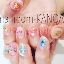 春夏オールシーズンデートハンド Nailroom Kanoaのネイルデザイン