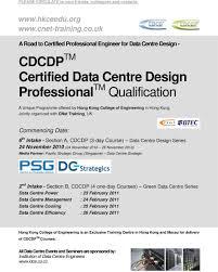 Certified Data Centre Design Professional Cdcdp Cdcdp Tm Certified Data Centre Design Professional Tm