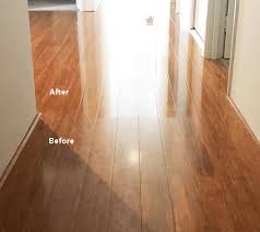 a bamboo floor that became dull from wear and incorrect cleaning and needed re finishing electrodry can fix floors that have dulled over time