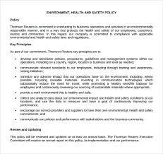 business policy example 11 health and safety policy templates free sample example format