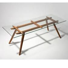 glass dining table top thickness. sticotti glass dining table $845.00 height: 75cm top width: 85 cm thickness