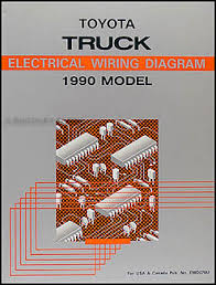1990 toyota pickup truck wiring diagram manual original 1990 toyota pickup 22re wiring diagram 1990 Toyota Pickup Wiring Diagram #25
