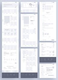 Ui Ux Design Wireframes Website App Wireframe Examples For Creating A Solid Ux