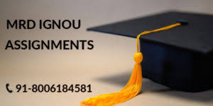 IGNOU Solved Assignment | IGNOU Assignments 2020